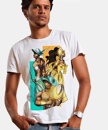Camiseta - Oxum, Erinlé e Logun Edé