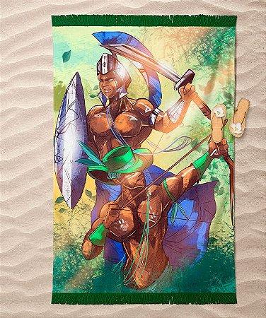 Canga de praia - Ogum e Oxóssi, irmãos de caça