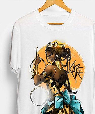 Camiseta  - Orixá Oxum Karé, a rainha caçadora