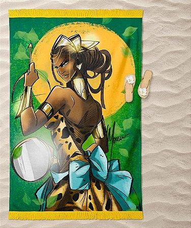 Canga de praia - Orixá Oxum Karé