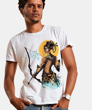 Camiseta - Odé Karé, Oxóssi das Águas
