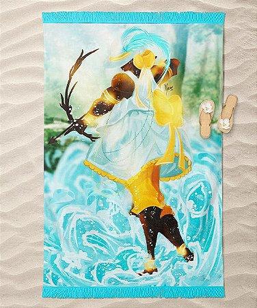 Canga de praia - Logunedé, o caçador encantado