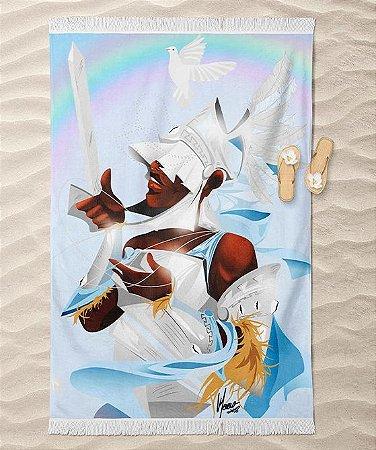 Canga de praia - Oxaguiã, o senhor do pilão