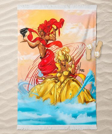 Canga de praia - Oxum e Oyá Iansã