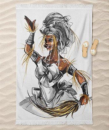 Canga de praia - Iansã Igbalé, a senhora dos espíritos