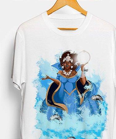Camiseta - Yemanjá, grande mãe dos peixes