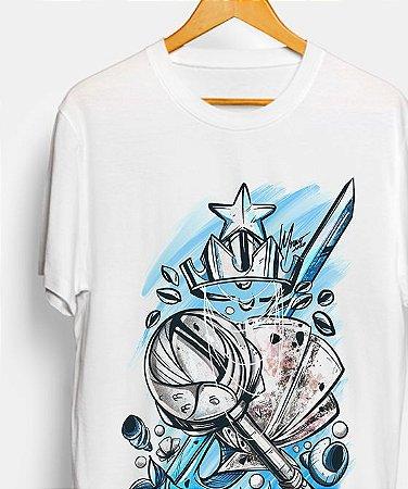 Camiseta - Ferramantas de Yemanjá, a rainha do mar