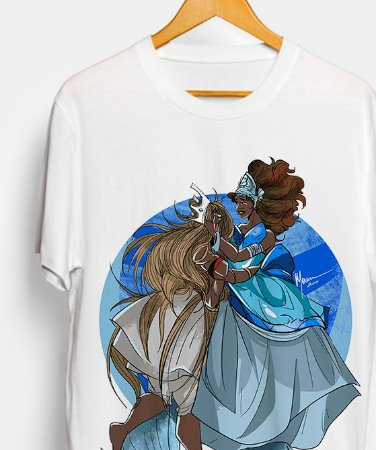 Camiseta - Omolu e Yemanjá