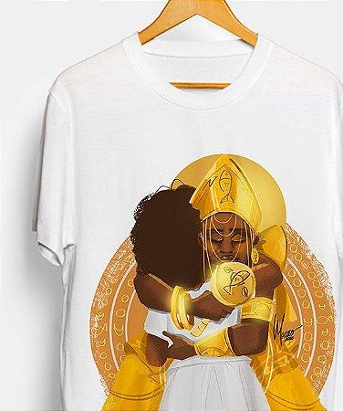 Camiseta - O abraço de Oxum
