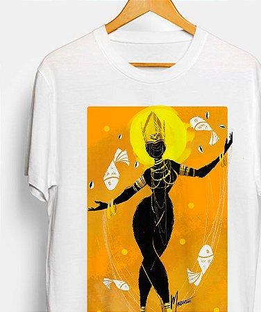 Camiseta - Oxum, coleção tribal