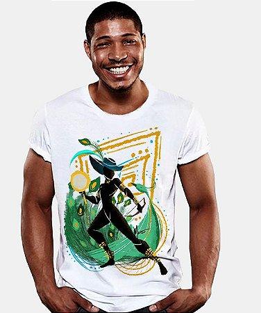 Camiseta - Orixá Logunedé, coleção tribal