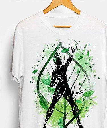 Camiseta - Orixá Ossaim, coleção tribal