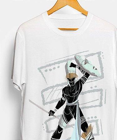 Camiseta - Orixá Oxaguiã, coleção tribal