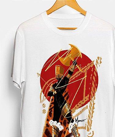 Camiseta - Orixá Xangô, coleção tribal