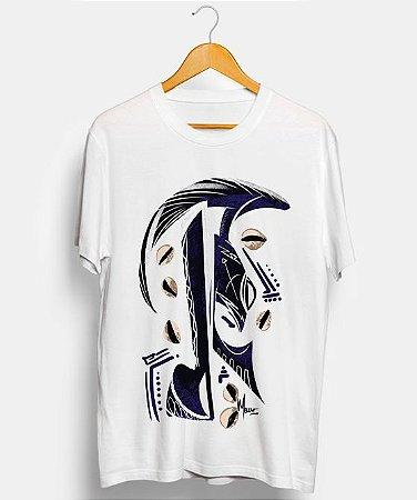 Camiseta - Ogum, o guerreiro minimalista