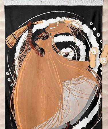 Canga de Praia- Omolu, coleção tribal