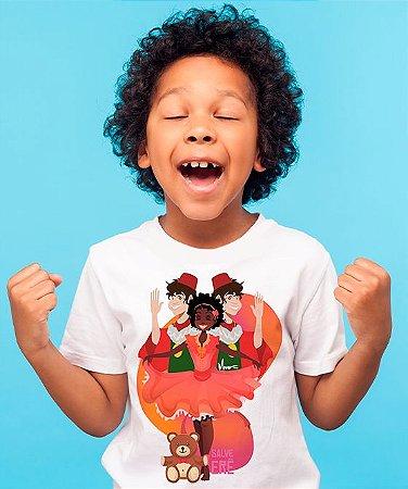 Camiseta Infantil - Erês felizes