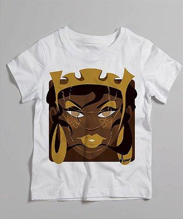 Camiseta infantil - Oxum rainha Minecraft