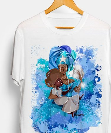 Camiseta - Yemanjá, mãe sereia