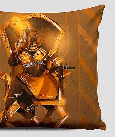 Almofada 30x30 cm - Oxum Deluxe, rainha