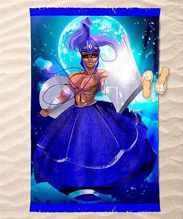 Canga de praia - Ogum, guerreiro do luar