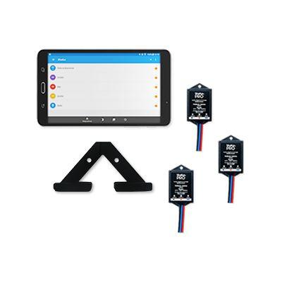 Combo Iluminação Conectada: 03 Bluelux PRO + Central de Automação + Suporte para fixação