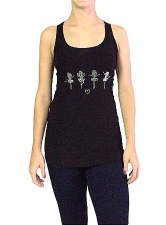 Camiseta Bailarina Strass
