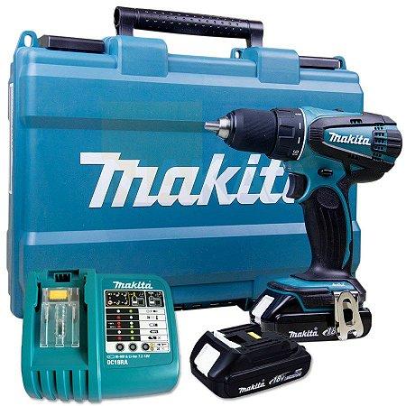 Parafusadeira / Furadeira a Bateria 18V MAKITA DDF456RHE 220V