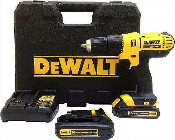 Parafusadeira / Furadeira de Impacto a bateria 20V DEWALT DCD776C2 220V