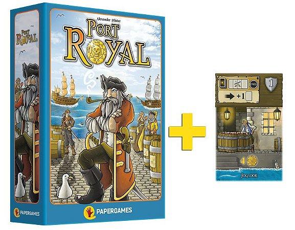 Port Royal + Carta Promocional + Score Pad Grátis!