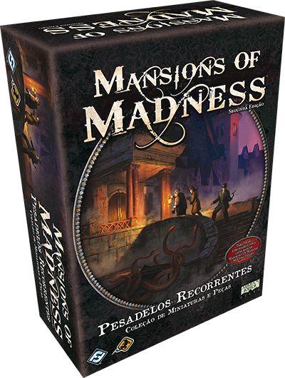 Pesadelos Recorrentes: Expansão Mansions of Madness