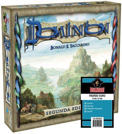 Pré Venda - Dominion 2ª Edição + 5 pacotes Sleeves EURO Bucaneiros