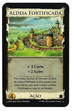 Pré Venda - Aldeia Fortificada - Carta Promo Dominion
