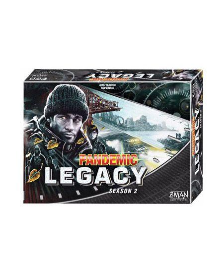 Pré Venda - Pandemic Legacy Black Segunda Temporada