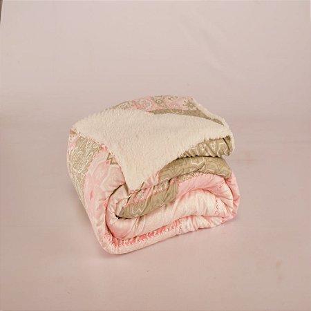 Cobertor Top Line Solteiro Lã de Carneiro 1 peça Loire