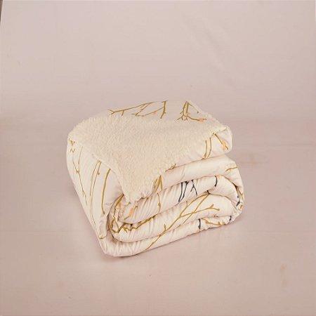 Cobertor Top Line Queen Lã de Carneiro 1 peça Gallys