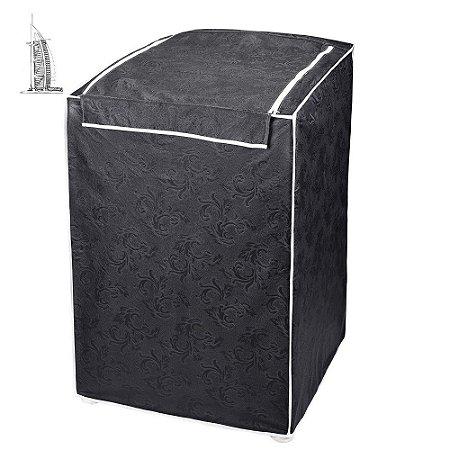 Capa para Máquina de Lavar Roupas Impermeável 10/12kg Grafit