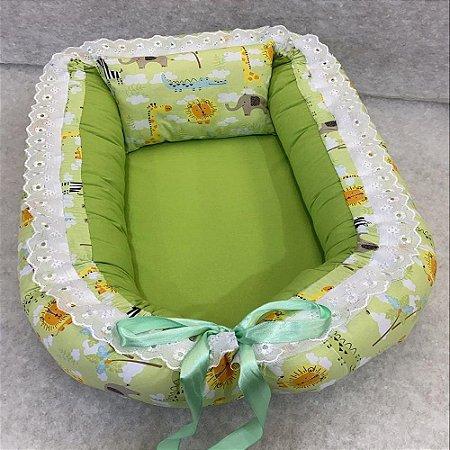 Ninho de Bebe Ninho Redutor de Berço Savana Verde Lançamento