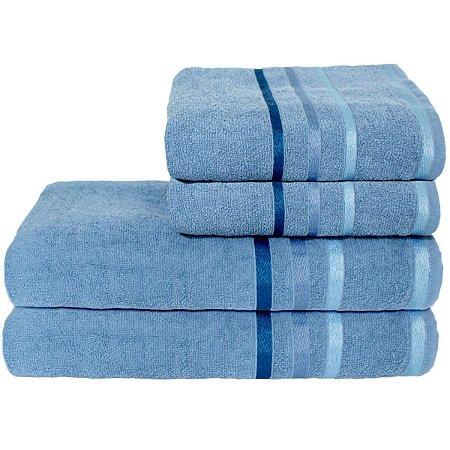 Jogo de Banho 4 peças Portinari - Azul Egito