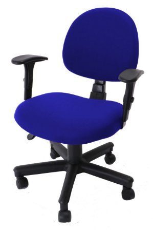 Capa De Cadeira Giratória de Escritório 1 Peça Azul Royal