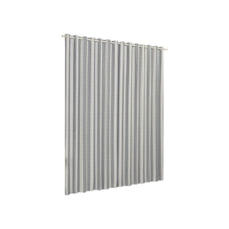 Cortina Quarto Sala Varão Califórnia Cinza 2,00m x 1,80m