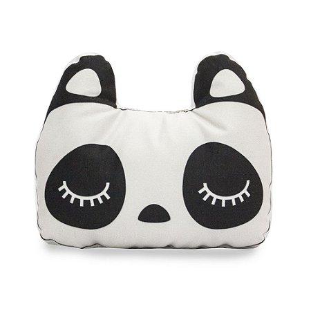 Almofada Infantil Suede Bichinhos da Floresta Panda