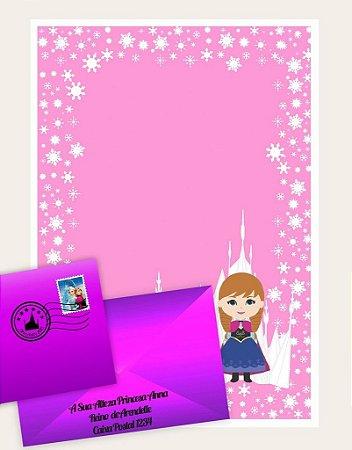 Cartinha Princesa Anna