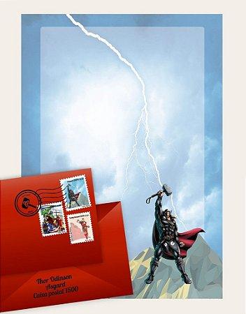 Cartinha Thor | com 02 BRINDES!