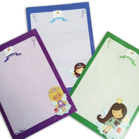 Kit Papéis de Carta + brindes da Fada do Dente
