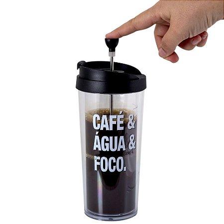 COPO CAFÉ PRENSADO - PALAVRAS