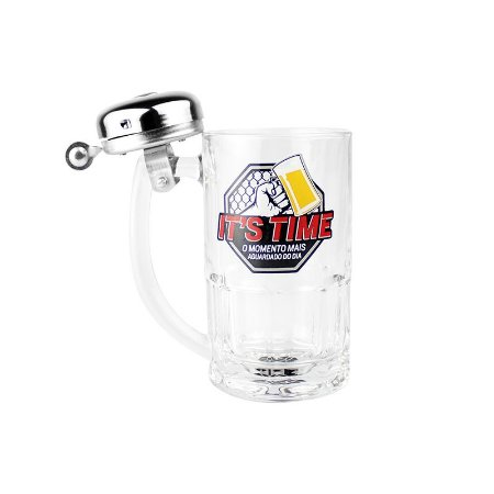 CANECA CAMPAINHA IT´S TIME