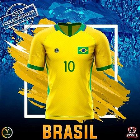 84ea20795d BRAZUCA AMARELINHA - PLAYER - Superloja do Futebol