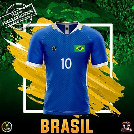 a5721daba6 BRAZUCA AZUL - PLAYER - Superloja do Futebol