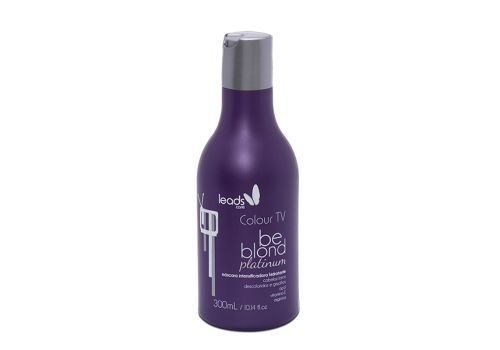 Be Blond Platinum Máscara Tonalizante Colour TV 300 ml